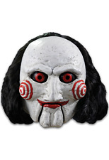 Halloween SAW - Billy Puppet Adult Latex Deluxe Mask Costume Haunted House NEW