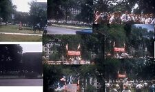 Orig 36 Slides + CD 1960 George Lincoln Rockwell NAZI PARTY Riot AIR SHOW & More