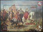 Lithuania miniature sheet - Painting - T. Brandt_Fight by Chotin_2021 - MNH.