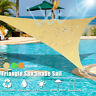 Triangle Sun Shade Sail Outdoor Garden Cover UV Canopy Shadecloth Awning