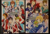 JAPAN manga LOT: The Idolmaster SideM Comic Anthology vol.1+2 Set