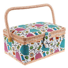 1PC Printing Sewing Case Needle And Thread Basket Stitch Tools Holder for Dorm