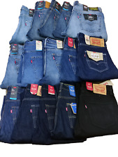 LEVI'S Premium 501, 502, 505, 511, 512, 541 Vintage Denim Men Jeans Straight Leg