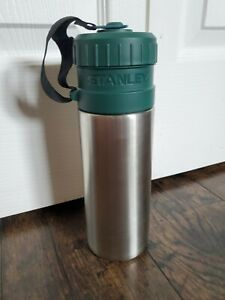 Stanley Utility Water Bottle Cup Mug 24oz Stainless Steel 20-00542