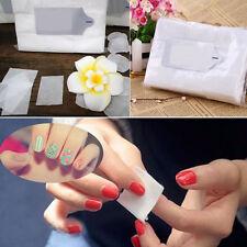 900pcs Toallitas Papel Algodón Removedor de Esmalte de uñas  Limpiador Manicura