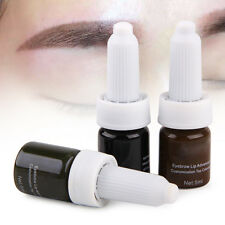 5ml Pro Permanent Eyebrow Tattoo Ink Fit For Practice Micro Blading Pigment Kits