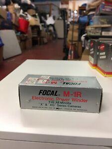 Focal M-R Electronic Power Winder For Minolta X & XG Series Cameras