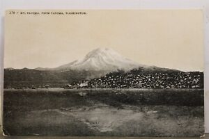 Washington WA Mt Tacoma Postcard Old Vintage Card View Standard Souvenir Postal