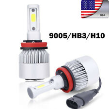 USA 1PCS 9005/HB3/H10 LED Car Headlight Bulb 36W HID Hi/Lo Fog Bulb 8000LM 6500K