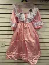 CHILDREN CIVIL WAR ERA DRESS COSTUME LARGE PINK