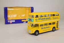 Corgi 482; Routemaster Bus; Off Peak Speak, Brtitsh Telecom; Very Good Boxed