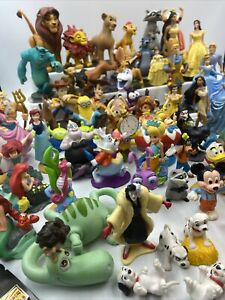 Huge Mixed Lot Disney PVC Figures Toys Cake Toppers  Characters Trading Pin
