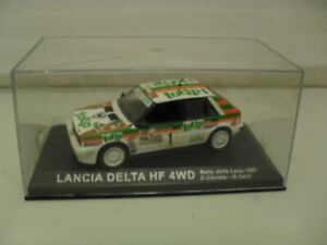 IXO / DEAGOSTINI  LANCIA Delta HF 4WD, Rally car.1/43. Diecast model - ISSUE 64