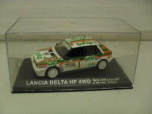 IXO / DEAGOSTINI  LANCIA Delta HF 4WD, Rally car.1/43. Diecast model - ISSUE 64