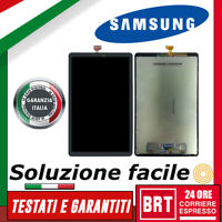 DISPLAY LCD+TOUCH SCREEN SAMSUNG GALAXY TAB A2 2018 SM-T590 T595 SCHERMO VETRO!!