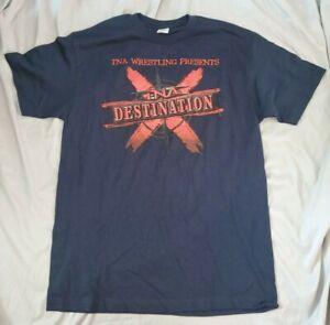 Destination X pay-per-view licensed, original t-shirt (L) * New, Never Worn, TNA