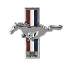 1989-1990 Mustang 25th Anniversary Dash Emblem Pony & Tri-Bar Running Horse