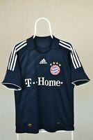 BAYERN MUNICH MUNCHEN 2008/2009/2010 AWAY FOOTBALL SHIRT  VINTAGE ADIDAS SIZE M