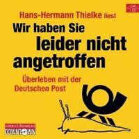 """HERMANN THIELKE """"WIR HABEN SIE LEIDER NICHT..."""" CD NEW"""