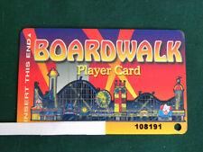 "Player Card ""Boardwalk Casino""- Las Vegas - Nevada - EB78"