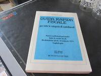 Guida Rápido Fiscal Todas Le Categoría Contribuenti Febrero 1991 Ed. Vuelo