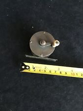 VINTAGE BRASS FISHING REEL FOR FLY FISHING. HAND CRAFTED.