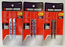 Blackdecker power saws blades ebay black decker 75 254 2 34 14tpi high speed jigsaw greentooth Gallery