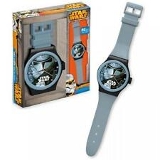 STAR WARS STORMTROOPER JUMBO LARGE HANGING WRIST WATCH STYLE BEDROOM WALL CLOCK