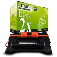 2x MWT ECO Toner XXL ersetzt HP CF281X 81X