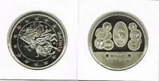 Penning met afbeelding 1 euro en munten Hongarije (a100)