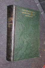 Géographie universelle. Quillet 1923. Tome I