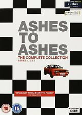Ashes To Ashes Complete Series 1 - 3 Dvd Box Set Collection New Uk Season 1 2 3