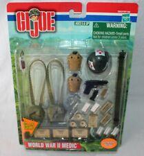 "GI Joe 1:6 WWII WORLD WAR 2 MEDIC GEAR FOR 12"" Action Figure Hasbro 2001"
