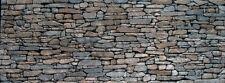 NEBS Stacked Stone Retaining Wall  Lg HO, HOn3, S and O