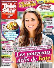 TELE STAR N°1954 15 MARS 2014  KATE MIDDLETON/ QUARTZ/ F1/ CLOONEY/ CAVIEZEL