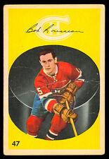 1962 63 PARKHURST #47 BOBBY ROUSSEAU VG ROOKIE MONTREAL CANADIENS HOCKEY