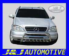 MERCEDES ML W163  1999 - 2004  BULL BAR NUDGE PUSH BAR GRILL GUARD