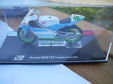 MOTO HONDA RSW 125 THOMAS LUTHI 2005 SCALA 124