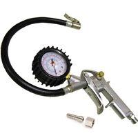 Car Van 16 Bar 220 P Tyre Air Line Inflator Dial Pressure Meter Gauge Compressor