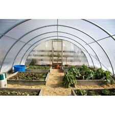 4 Year 6 Mil Clear Plastic Greenhouse Poly Film 20 ft. Wide - *VARIOUS LENGTHS*