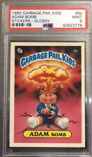 1985 Topps GLOSSY Garbage Pail Kids OS1 #8a ADAM BOMB PSA 9 MINT