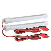 2x 12V Car LED SMD Interior Light Bar Tube Strip Lamp Van Boat Caravan Moto T9W8