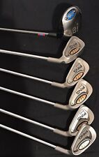 Lot Of Ping I3 Blade Irons Green Dot And One Ping Wood