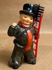Goebel Chimney Sweep w/ Ladder & Brush Figurine Germany Great Condition No Box