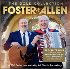 Foster and Allen Gold Collection X3 Disc CD Crimson