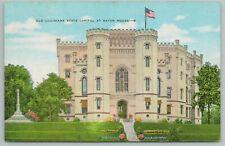 Baton Rouge Louisiana~Old State Capitol~Vintage Postcard