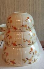 Hall China Autumn Leaf by MaryDunbar 3 Nesting Mixing Bowls