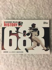 2006 Topps Barry Bonds #683 Home Run History