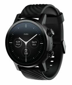 NEW Moto 360 Smartwatch w/ Wear OS - 3rd Gen - Phantom Black SEALED