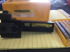 Kennametal Kbcr 16d3d Parting Tool With 3 New Inserts